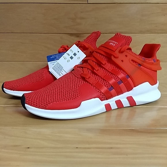 size 40 0cf42 31ff7 Adidas EQT Support ADV 91-16 Coral Red CQ3004